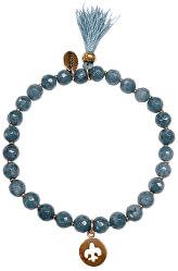 Náramok z modrého achátu 865-180-040014-0000