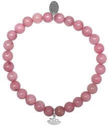 Náramek z růžového jadeitu 865-180-017038-0000