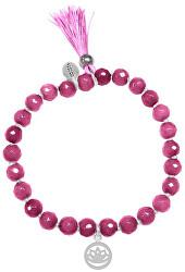 Náramek z růžového jadeitu 865-180-040007-0000