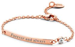 Oceľový náramok Forever and always 860-180-090137-0000