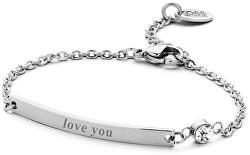 Oceľový náramok Love You 860-180-090132-0000