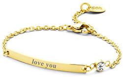 Oceľový náramok Love You 860-180-090133-0000