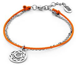Oranžový mandala náramok Druhá čakra 860-180-090206-0000