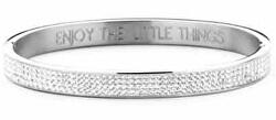 Pevný ocelový náramek Enjoy the little things 860-180-090309-0000