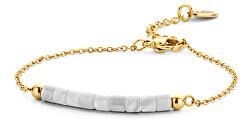 Pozlacený náramek s korálky 865-180-090379-0000