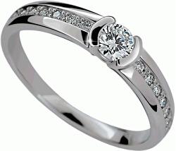 Luxusní zásnubní prsten DLR2106b