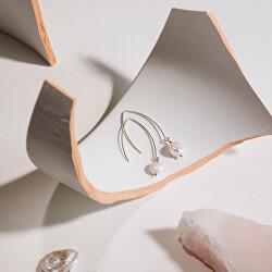 Stříbrné náušnice s mořskými perlami