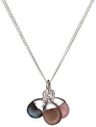 Stříbrný náhrdelník s polodrahokamy - nové začátky, dobrodružství a naděje (řetízek, přívěsek)