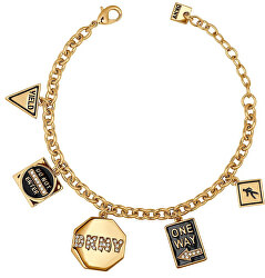 Fashion náramek s přívěsky New York 5547985