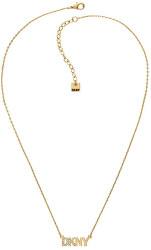 Collana placcata in oro con logo Pendant New York 5519995