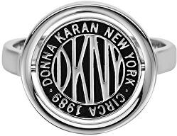Stylový prsten s logem Token New York 5520034
