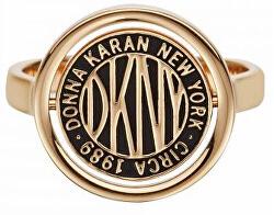 Stylový prsten s logem Token New York 5520037
