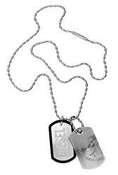 Pánský náhrdelník se známkami DX0011040