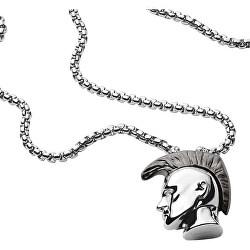 Stylový pánský náhrdelník Mohykán DX1253040