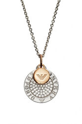 Elegantný bicolor náhrdelník EG3374040