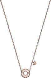 Luxusné bronzový náhrdelník EG3457221