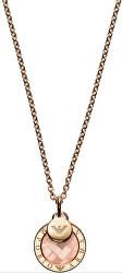 Luxusné bronzový náhrdelník s príveskami EG3375221