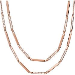 Luxusní dámský náhrdelník s krystaly EG3451221