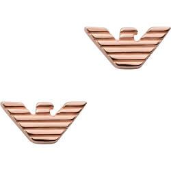 Stylové bronzové náušnice EG3505221
