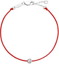 Červený kabala náramek se zirkonem 13005.3