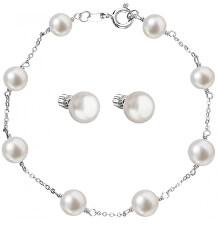 Elegantná zvýhodnená súprava šperkov Pavona 23008.1, 21004.1 (náramok, náušnice)