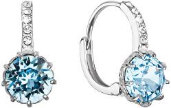 Krásné stříbrné náušnice s krystaly Swarovski 31302.1