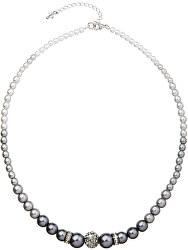 Náhrdelník s perlami 32008.3 grey