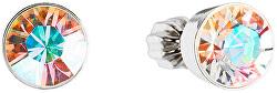 Náušnice s kryštálmi Swarovski 31113.2 krystal ab