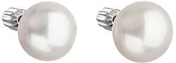 Pearl náušnice zo striebra Pavona 21005.1