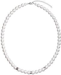 Perlový náhrdelník 32012.1 biela