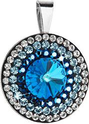 Prekrásny strieborný prívesok 34207.5 bermuda blue