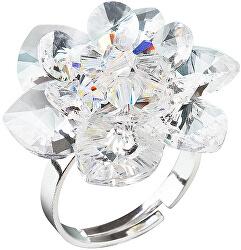 Prsteň Lekno 35012.1 krystal