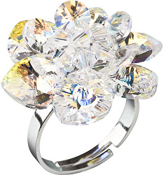 Prsten Leknín 35012.2 krystal ab