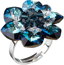 Prsten Leknín 35012.5 bermuda blue