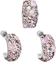 Romantická sada šperků Magic Rose 39116.3 (náušnice, přívěsek)