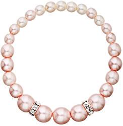Romantický korálek náramok Rosaline Pearls 33091.3
