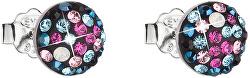 Slušivé náušnice s krystaly Galaxy 31136.4