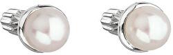 Strieborné náušnice s perlou Pavona 21003.1