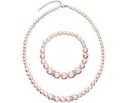 Zvýhodněná sada Rosaline Pearls (náramek, náhrdelník)