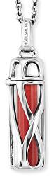 Dizajnový náhrdelník s príveskom a jaspis veľ. S ERN-HEAL-RJ-S (retiazka, prívesok)