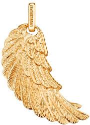 Pozlacený stříbrný přívěsek Andělské křídlo ERW-G