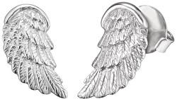 Stříbrné náušnice Andělské křídlo ERE-WING-ST
