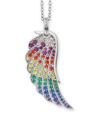 Stříbrný náhrdelník s andělským křídlem ERN-WING-ZIM