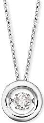 Stříbrný náhrdelník se zirkonem ERN-TWINKLE-1-Z