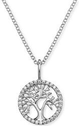 Stříbrný náhrdelník Strom života se zirkony ERN-LILTREE-ZI