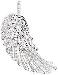 Stříbrný přívěsek Andělské křídlo se zirkony ERW-01-ZI