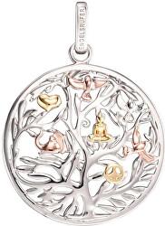 Stříbrný tricolor přívěsek Strom života ERP-TREE-TRICO