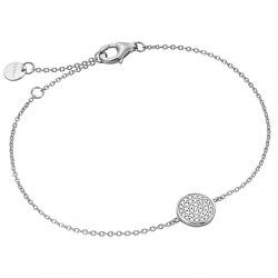 Stříbrný náramek s ozdobou ESBR00951117