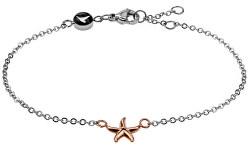 Elegantní ocelový náramek s mořskou hvězdicí WB1018RS