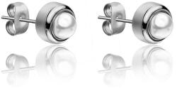 Náušnice kôstky s perličkami WE1015S